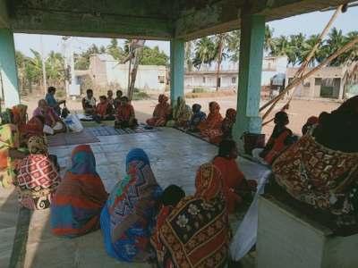 April 26th, 2021 by Ekta Parishad in Kalahandi, Orissa on Covid Planning.